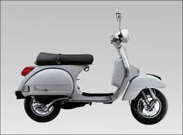 Vespa PX200 Grey