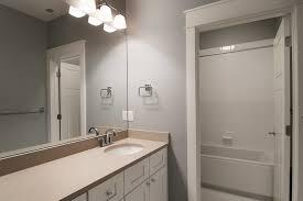 bathroom design contempo tile above the soaking tub for
