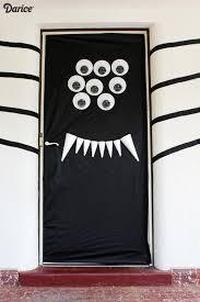 Halloween Classroom Door Decorations by How To Decorate Front Door For Halloween Popsugar Home