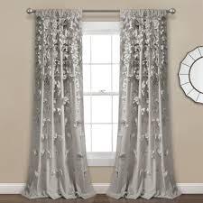 ophelia co clarkstown rod pocket single curtain panel