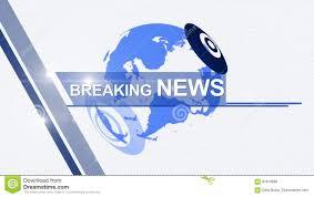 Breaking News Background Generic 4K Blue Stock Footage