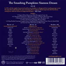 Siamese Dream Smashing Pumpkins Vinyl by Smashing Pumpkins Siamese Dream 1993 2cd Dvd 2011 Virgin