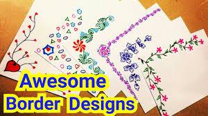 6 Border Designs
