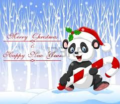 576 Christmas Panda Stock Illustrations Cliparts And Royalty Free