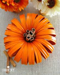Best Way To Carve A Pumpkin Lid by Mason Jar Lid Pumpkins The Country Cook