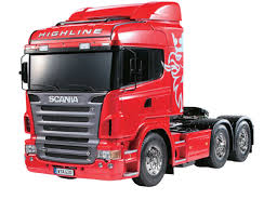 Tamiya 1/14 R/C Scania R620 6X4 Highline Truck Model Kit - 56323 ...