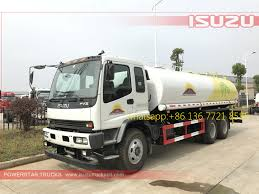 100 Water Truck Tanks New Designed 20000L Angola 6x4 10wheelswater Delivery Isuzu