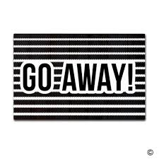 Funny Synonyms For Bathroom by Go Away Doormat Wine Creative Doormat For Home Come In