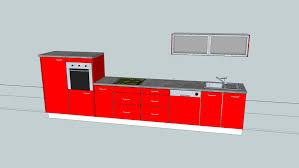 ikea faktum küche rot 3d warehouse