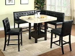 Booth Dining Room Sets Pub Set Counter Height Table Style Seats S