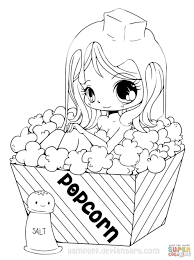 Anime Coloring Pages Girls Free For Kids