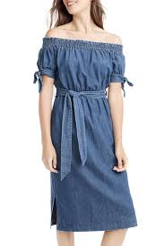 10 best denim dresses for fall 2017 jean chambray and denim