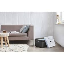 sigma home 24 32 l aufbewahrungsbox grau