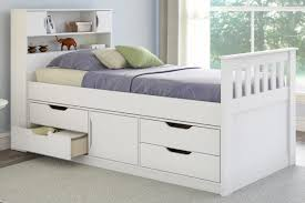 Twin Captains Bed With 6 Drawers by Viv Rae Deion Twin Captain Bed With Storage U0026 Reviews Wayfair