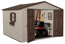 Suncast Garden Shed Taupe by Looking For Helpful Plastic Shed Reviews
