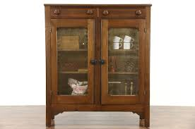 SOLD Kitchen Pantry Pie Safe Cupboard 1870 Antique Bakery