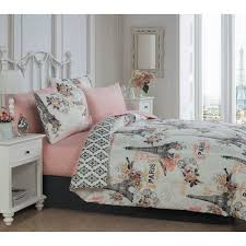 Jcpenney Teen Bedding by Cherie 8 Piece Bed In A Bag Set By Avondale Manor Hayneedle