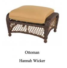 Windward Hannah Patio Furniture by Wicker Totally Casual Outdoor Furniture