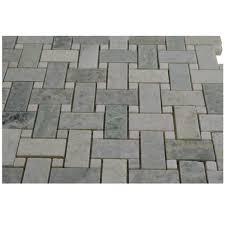 basketweave tile ming green marble basketweave