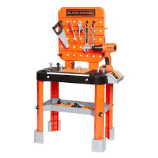 Black And Decker Junior Builder Workbench 64 Tools And Accessories