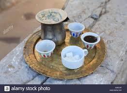 Traditional Lebanese Coffee Bcharre Qadisha Valley Lebanon