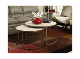 100 Living Room Table Modern Basics Round Cocktail With Nesting S Morris Home
