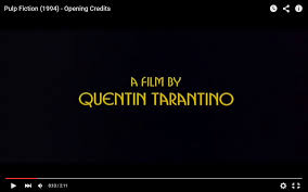 Pumpkin And Honey Bunny Misirlou Download by Textual Analysis Of Pulp Fiction Quentin Tarantino 1994 Jay