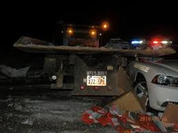100 Weld County Garage Truck City Police Semi Driver Slams Into Tow Truck Wrecking Occupied UHP