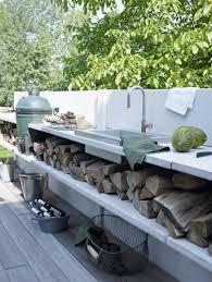 construire une cuisine d été cuisine extérieure bien préparer projet habitatpresto