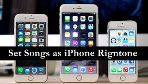 set Song as iPhone Ringtone or any other tone