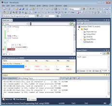 Click To See Full Size Image Of Arduino Programming In Microsoft Visual Studio 2010