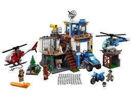 100 Lego Police Truck Mountain Headquarters 60174 City LEGO Shop
