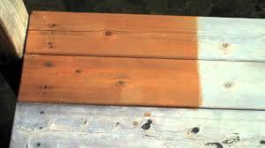 Behr Premium Deck Stain Solid by Deck Sealer Test Results Part 2 Youtube