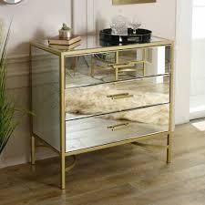 gross klar glas spiegel gold gerahmt kommoden schlafzimmer