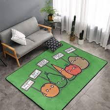 hebb weicher gemütlicher teppich aus memory schaum für
