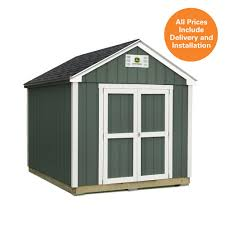 Tuff Sheds At Home Depot by Sheds Usa 8 Ft X 12 Ft Installed John Deere Shed T0812fvp The