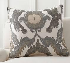 hudson ikat pillow cover pottery barn