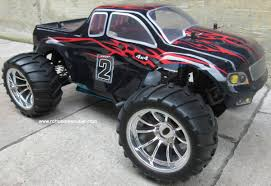 100 4x4 Rc Truck RC Nitro Gas Monster HSP 110 Scale 4WD 24G RTR 88050