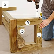 Wood Lawn Bench Plans by Garden Variety Outdoor Bench Plans