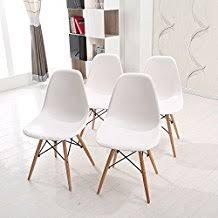 chaise blanche de cuisine amazon fr chaise scandinave blanc
