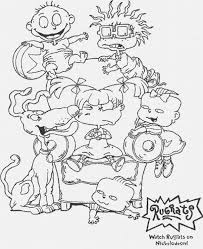 Awesome Collection Of Rugrats Coloring Pages To Print Also Service