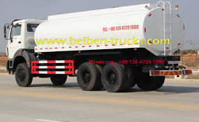 100 Water Tanker Truck Hot Sale CHINA Good Quality Beiben 20m3 Capacity