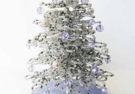17 Best Miniature Beaded Trees Images On Pinterest Concept Of Blue Christmas Tree Skirt