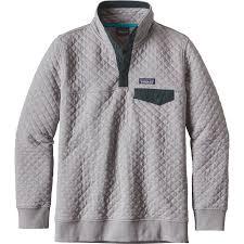 patagonia cotton quilt snap t pullover sweatshirt women u0027s
