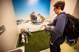 Denver Colorado Airport Murals by Your Local Airport Now Comes With A Mini Hydrant For Fido Nbc News