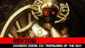 dungeon siege 3 free review dungeon siege iii treasures of the sun