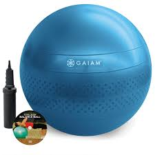 Gaiam Classic Balance Ball Chair Charcoal by Furniture Interesting Gaiam Balance Ball Chair Body In Blue For