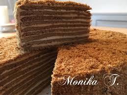 russische honigkuchen medovnik russischer honigkuchen
