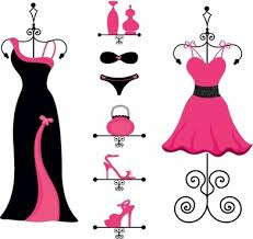 Pink And Black Fashion