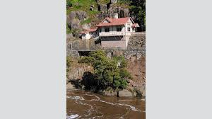 Christmas Tree Cataract Seen In by Cataract Gorge In Flood Photos The Examiner